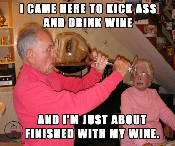 funny wine sayings