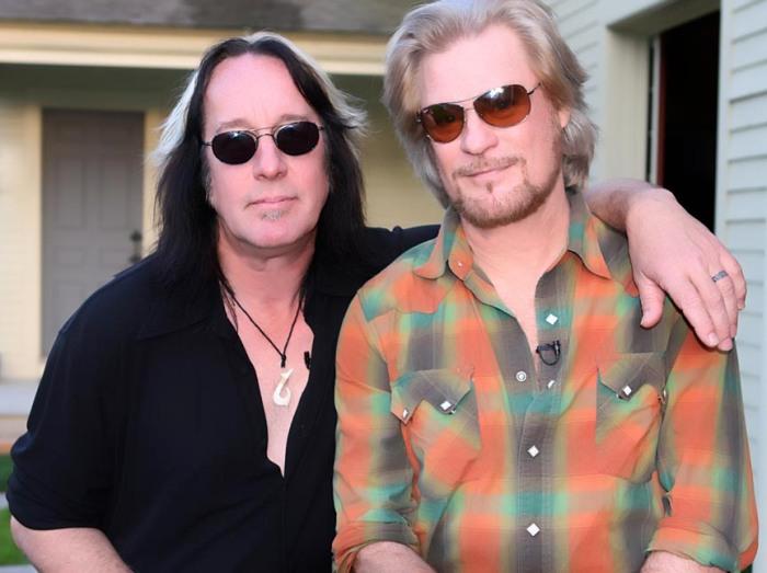 LFDH Daryl Hall and Todd Rundgren