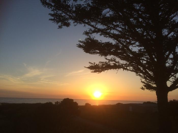 Oregon coast sunset views
