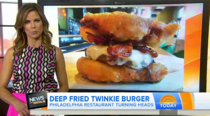 PYT deep fried twinkie burger