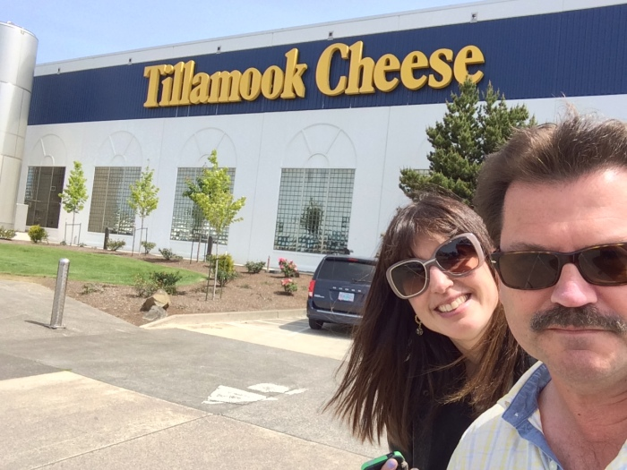 Tillamook cheese factory Oregon