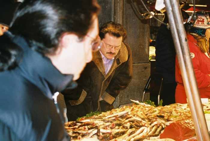 John Rieber Venice fish market