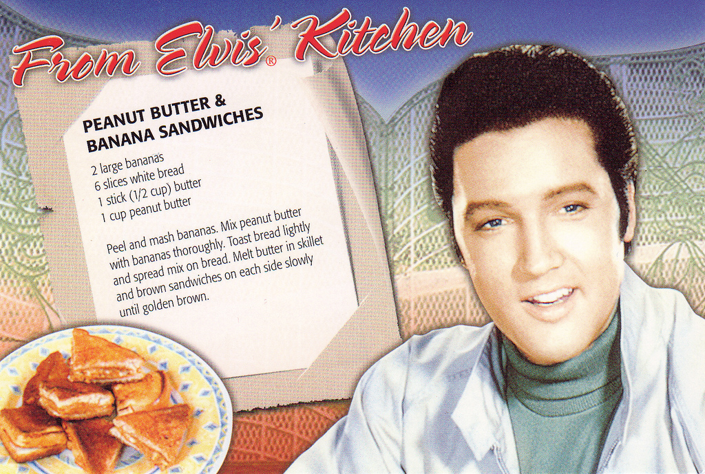 Elvis Presley Peanut Butter And Banana Sandwich Recipe Johnrieber