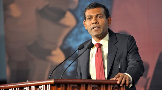 Maldives President Nashed