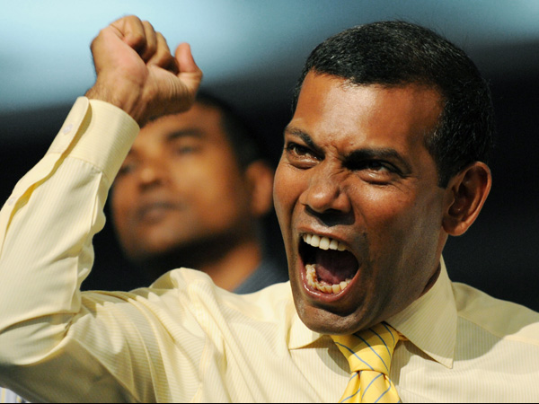 Mohamed-Nasheed arrrested