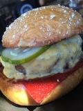 Plan Check Burger Ketchup Leather
