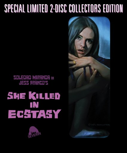 she killed in ecstasy blu-ray