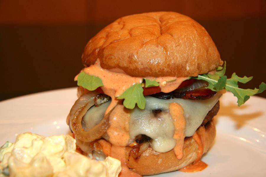 sriracha burger recipes