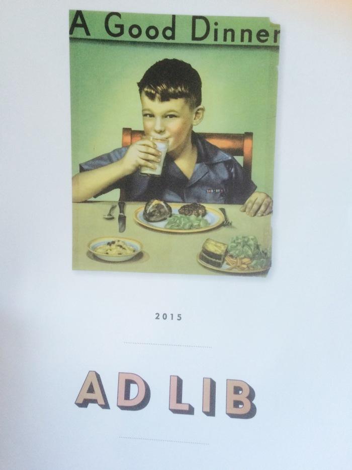 Thomas Keller Ad Lib menu