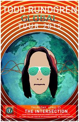 Todd Rundgren Global tour dates