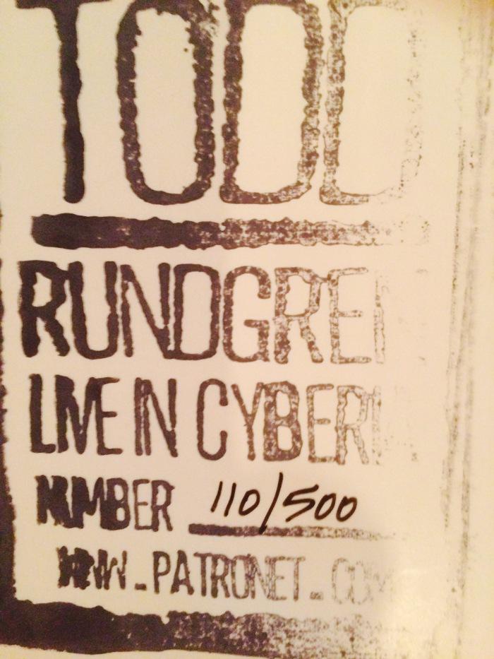 Todd Rundgren live 1994