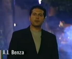 AJ Benza memoir