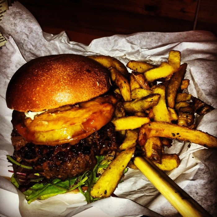 Black Pudding Burger