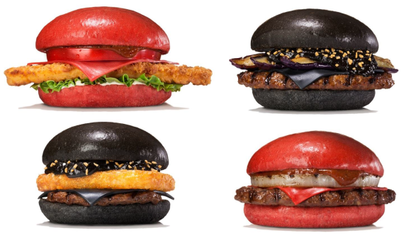 burger king red burgers