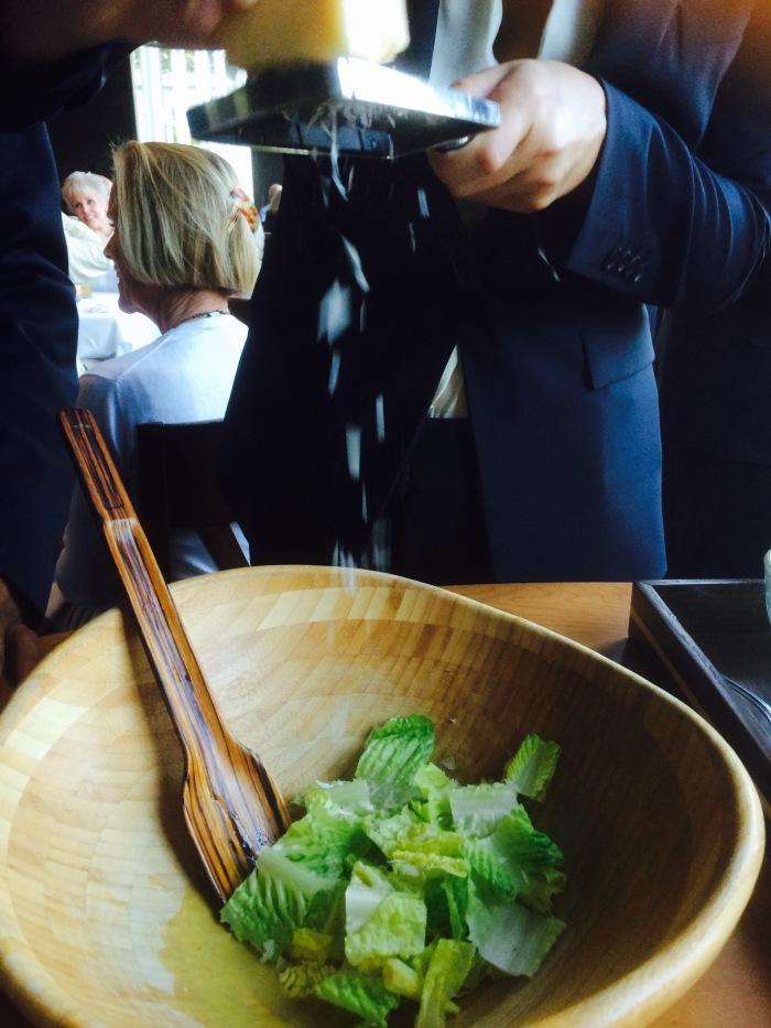 Caesar salad directions
