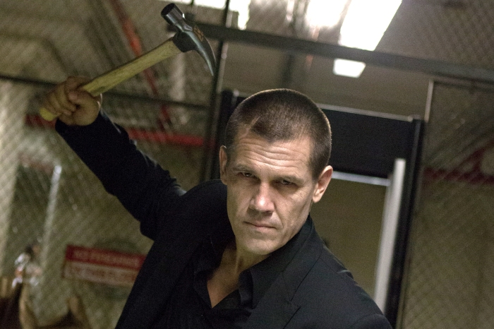 "This image released by FilmDistrict Pictures shows Josh Brolin in a scene from ""Oldboy."" (AP Photo/FilmDistrict Pictures, Hilary Bronmyn Gayle)"
