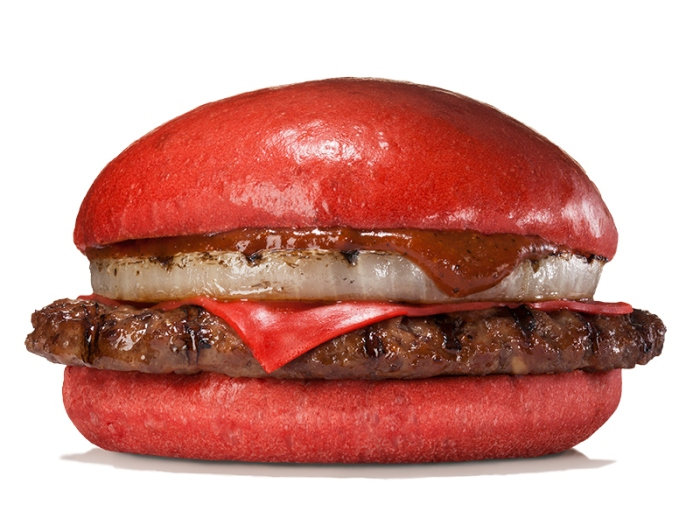 samurai red beef burger