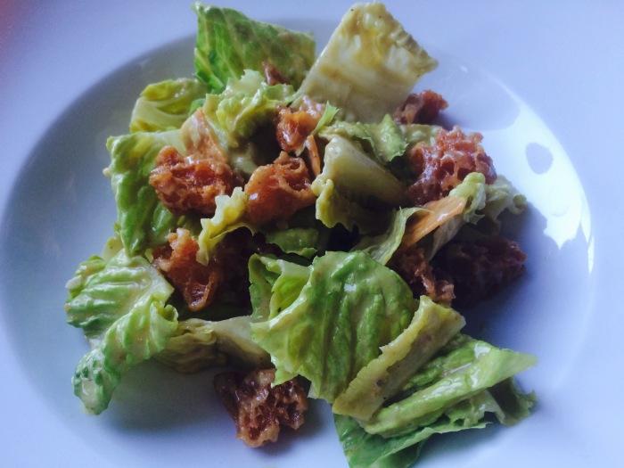 Thomas Keller caesar salad
