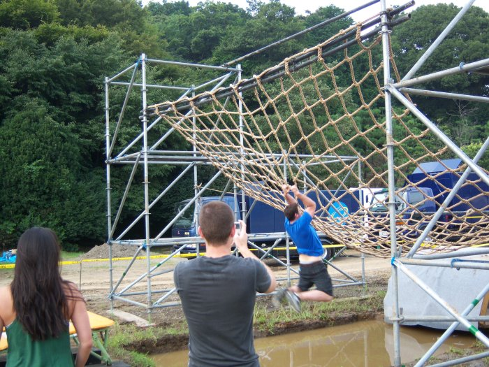 Ninja Warrior obstacles