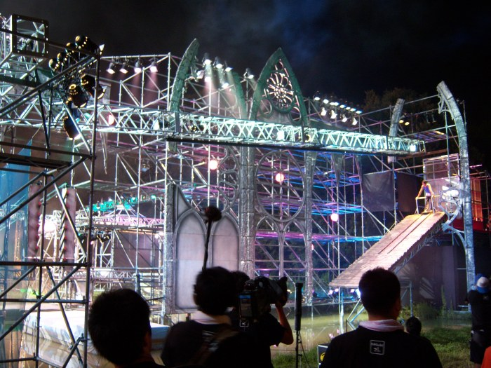 Ninja Warrior set Japan