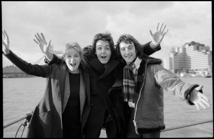 Paul and Linda McCartney London Town