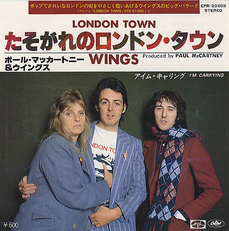 Wings-London-Town-Japan singles