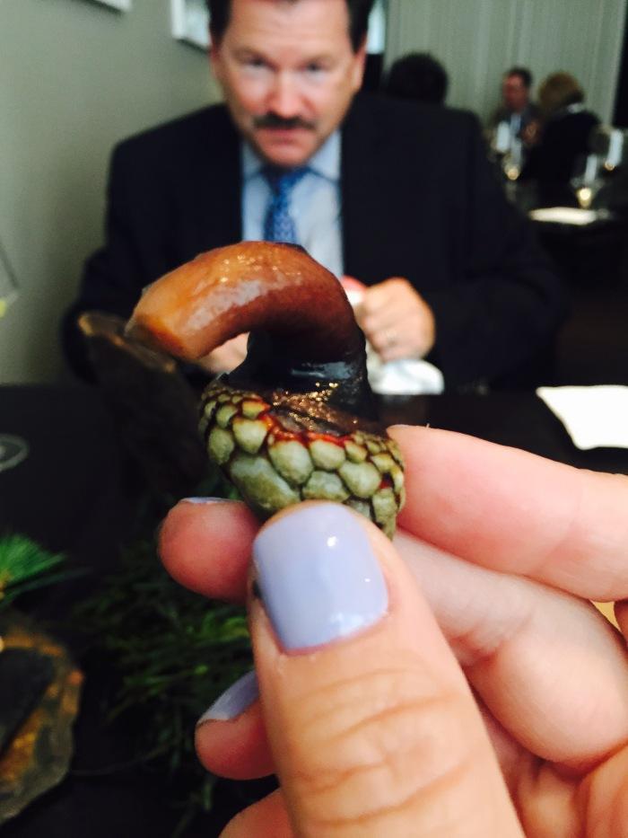 Alinea clam dish