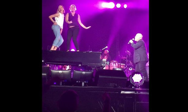 Billy Joel Wrigley Field AMy Schumer