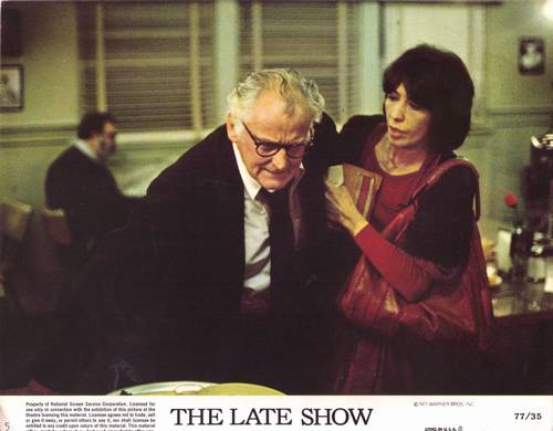 Lily Tomlin the late show