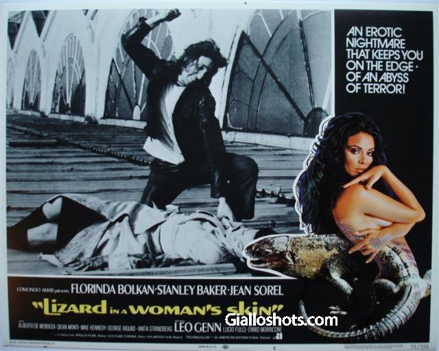 Lizard in a Woman's skin classic giallo