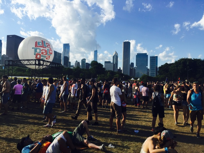 Lollapalooza balloon
