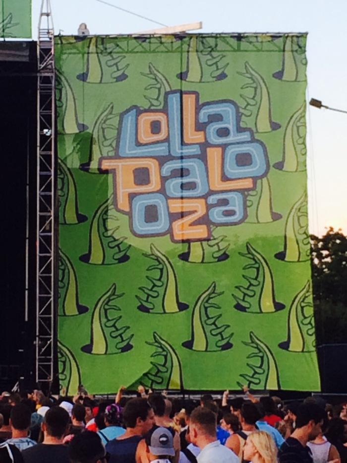 Lollapalooza logo 2015