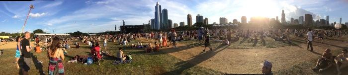 Lollapalooza panorama
