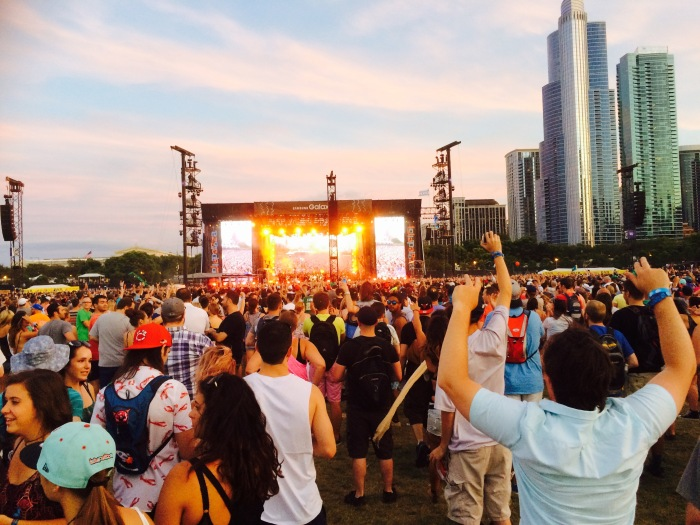 Metallica 2015 Lollapalooza