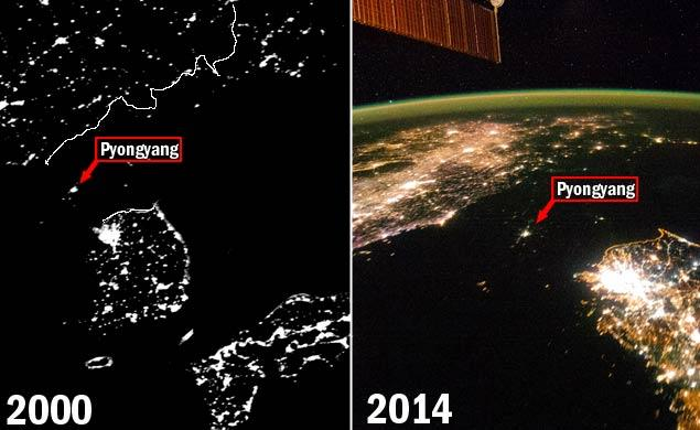 North Korea electricity outage
