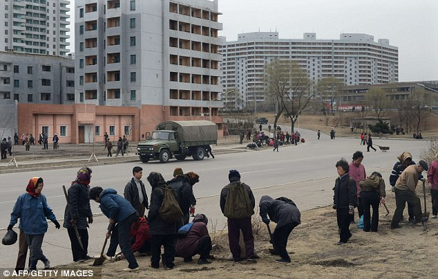 North Korea housing