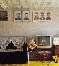 North Korean television set