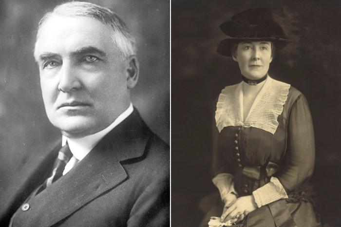 President Harding sex scandal