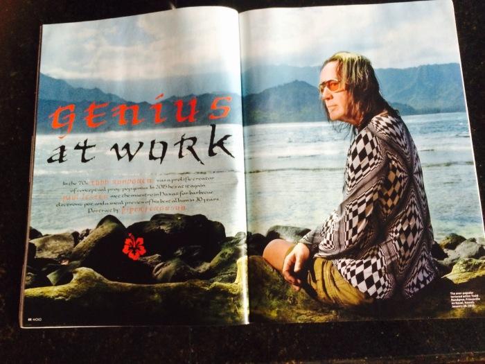 Todd Rundgren in MOJO