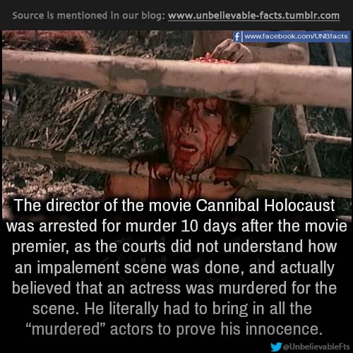 unbelievable movie facts