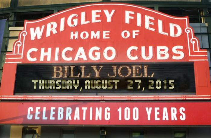 Wrigley Field Billy Joel