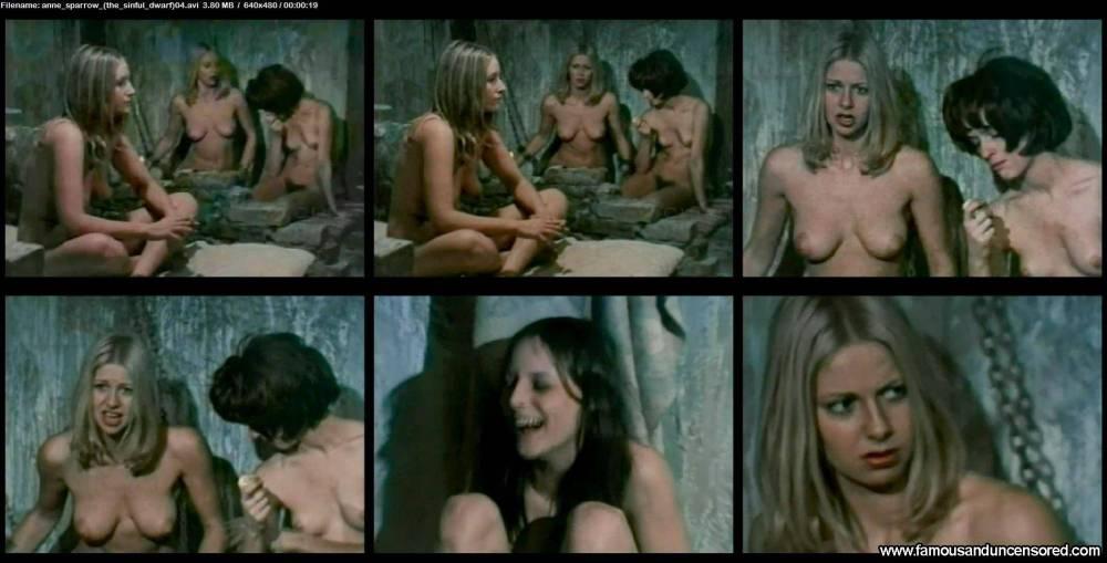 Anne Sparrow  nackt