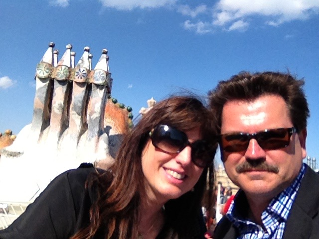 alex duda john rieber barcelona rooftop sculpture