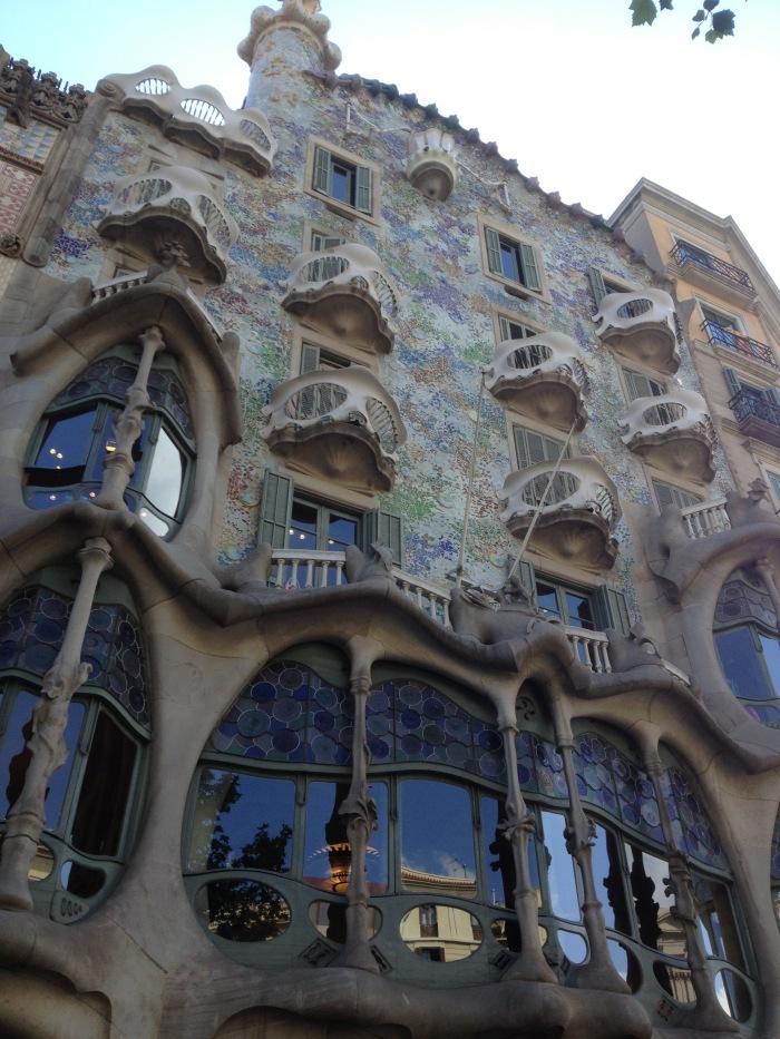 barcelona casa batllo - art building
