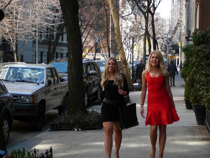 Carol Lee and Miller on NY upper east side