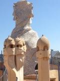 classical rooftop sculpture