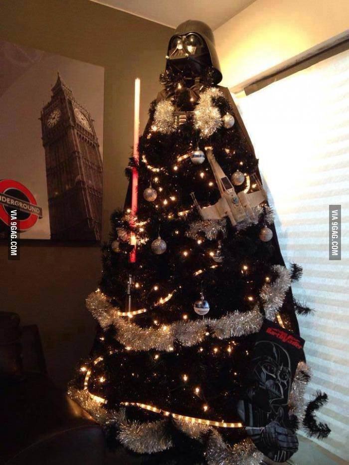 Darth Vader Christmas Tre