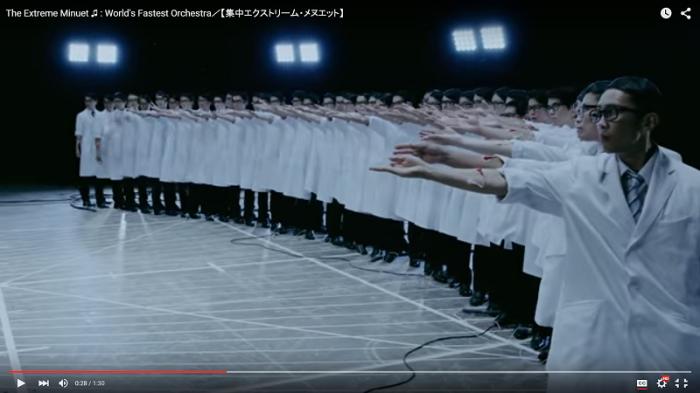 science beaker music video