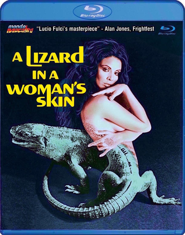 A Lizard in a woman's skin blu-ray