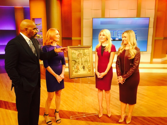 Art Breakers Steve Harvey TV appearance